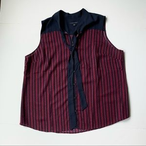 Tommy Hilfiger Sleeveless Blouse with tie